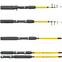 Eagle Claw Pack-It Travel Pack Rods